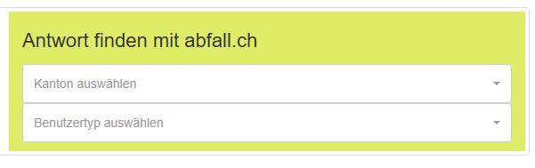 Abfall.ch