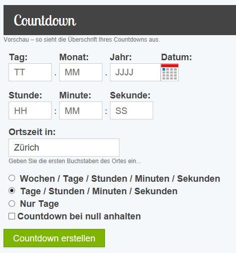 Timeanddate.de
