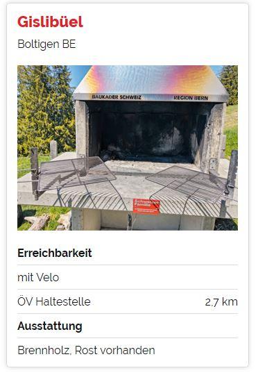 Schweizer Feuerstellen